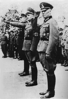 Himmler tours action reinhard facilities www for Frank hering