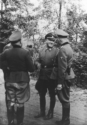 - SS officer Oswald Pohl pays an official visit to Auschwitz