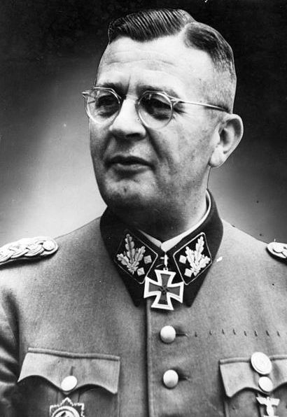 This is Erich Von Dem Bach, a leader of the Einsatzgruppen.