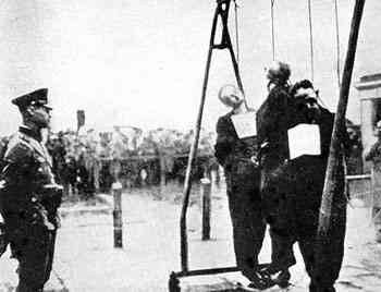 Nazi Women Guards Being Hanged http://www.freerepublic.com/focus/f-chat/2383806/posts