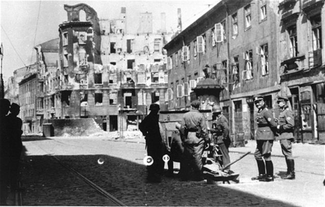 the warsaw ghetto during the nazi Ghetto in nazi occupied poland warsaw ghetto (q154607)  the yad vashem encyclopedia of the ghettos during the holocaust stated in.