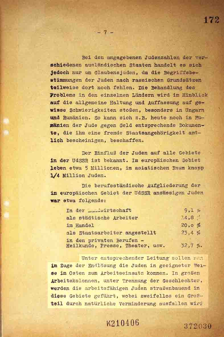 wannsee documents       holocaustresearchproject org