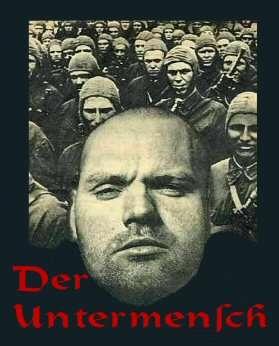 Image result for Nazi propaganda untermensch