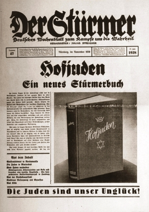 Anti nazi newspaper