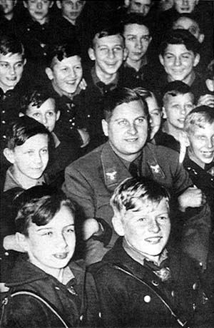 the hitler youth mr moore s wh semester ii left jubilant german girls wave nazi flags in their hitler youth outfits