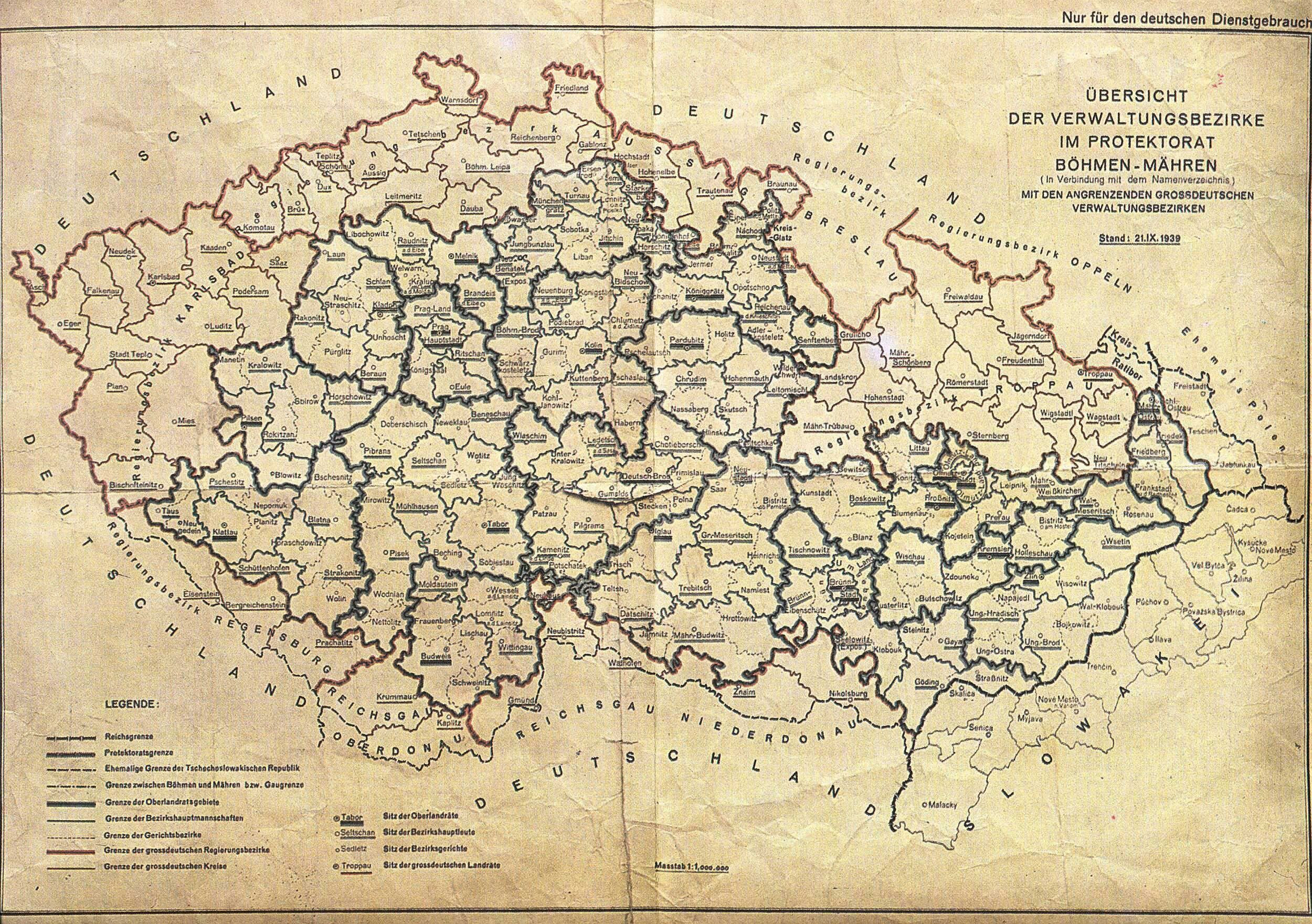 The German Occupationo Of The Sudetenland Bohemia Moravia Http