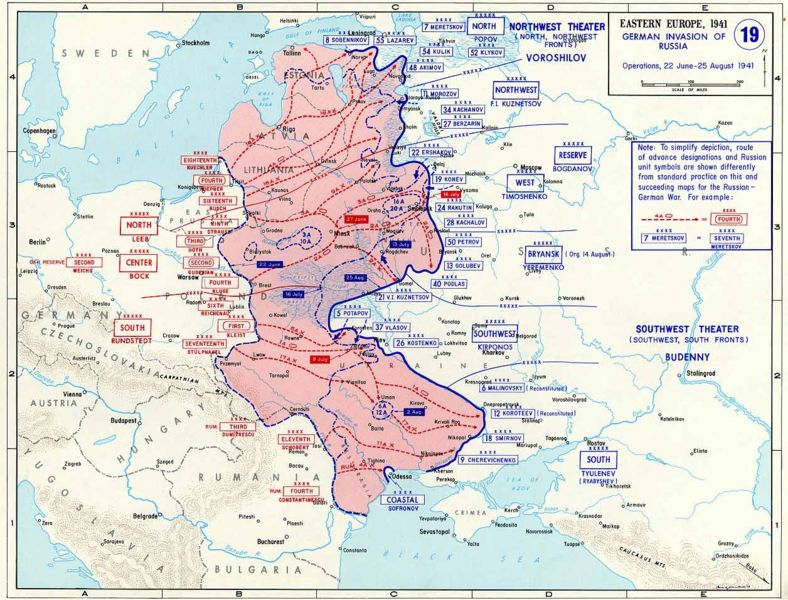 Operation Barbarossa Timeline! The German Occupation of Europe http ...