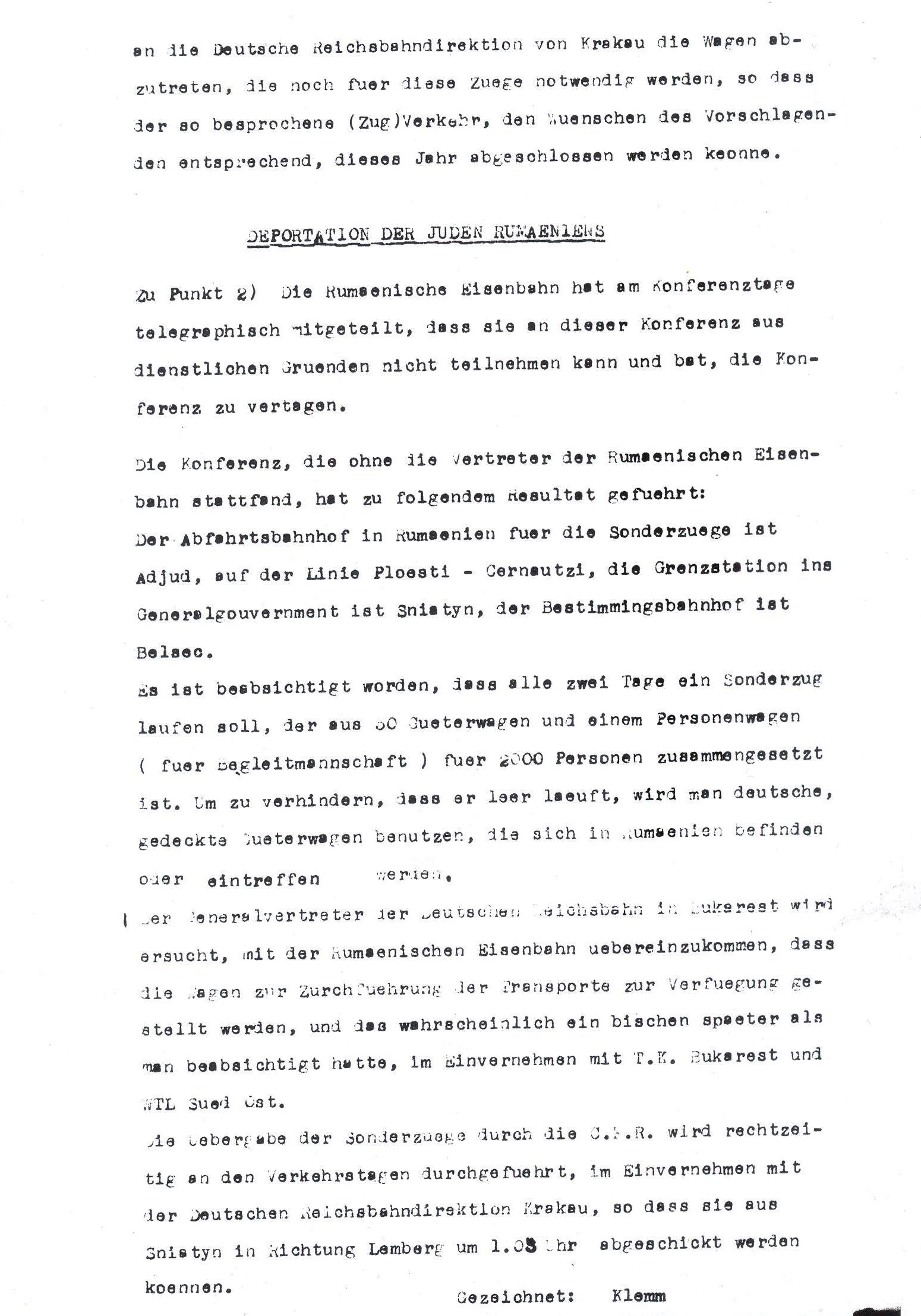 an essay on the interagency meeting for the solution of the jewish question in 1942 Conspiracy (tv movie 2001) in january 1942 in which nazi and ss leaders gathered in a berlin suburb to discuss the final solution to the jewish question.