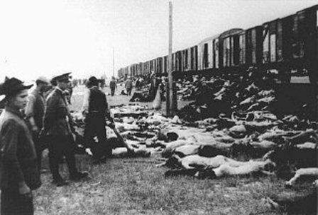 third reich map 1944 with During 20the 20deportation 20of 20survivors 20of 20a 20pogrom 20in 20iasi 20to 20calarasi 20or 20podul 20iloaei  20romanians 20halt 20a 20train 20to 20throw 20off 20the 20bodies on Gau Sajonia as well Index besides File nazi occupied europe september 1943 map further D Day Map 1944 moreover Deutschlandkarte 1944.