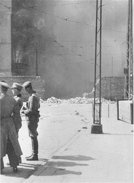 research paper on warsaw ghetto Learn about the historical topics we would like you to research share that a paper did warsaw ghetto jews revolt the warsaw ghetto uprising began after.