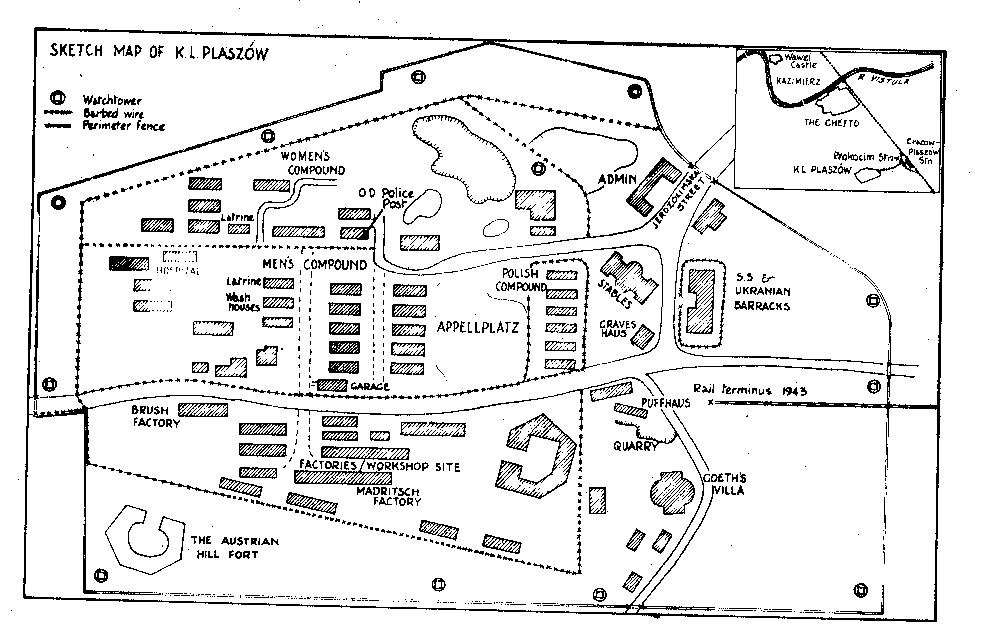 Plaszow Concentration Camp Map | www.imgkid.com - The ...