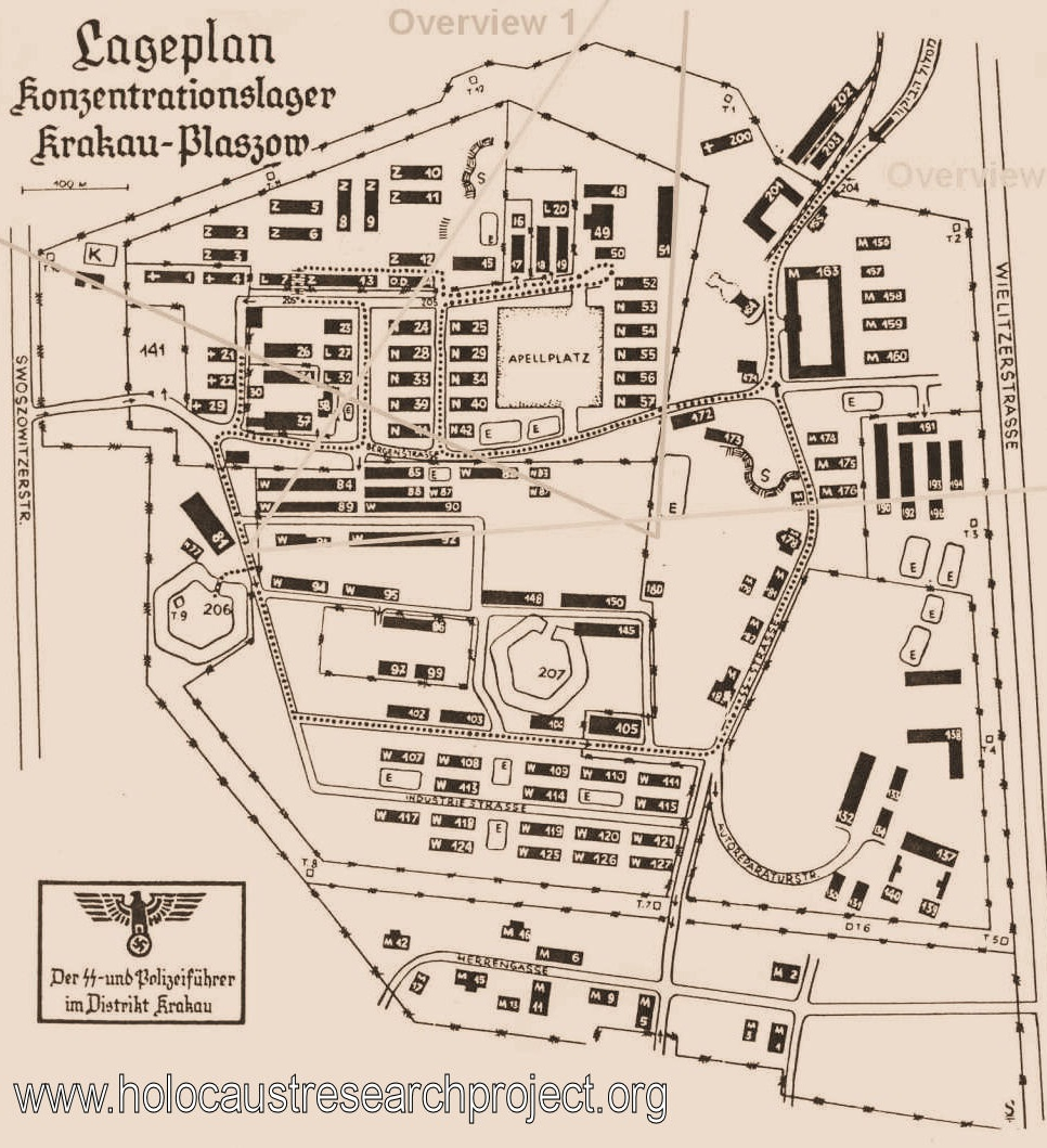 Map Of Germany Krakow.Krakow P Aszow Concentration Camp Topic Pictures And Information