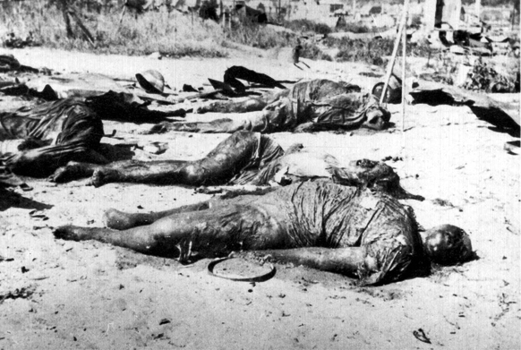 Jews burned alive at Kovno