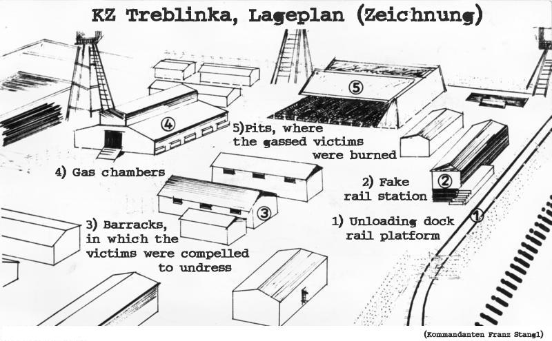 treblinka nazi death camp In july 1942, the operation reinhard authorities completed the construction of a  killing center, known as treblinka ii, approximately a mile from the labor camp.