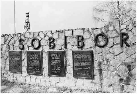 Sobibor Death Camp Gas Chambers Former Sobibor Death Camp